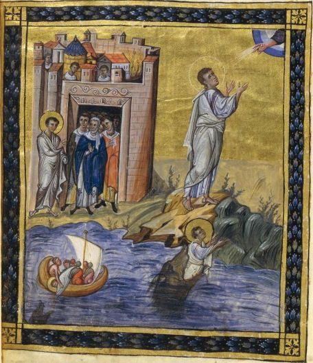 Jonah, Paris Psalter
