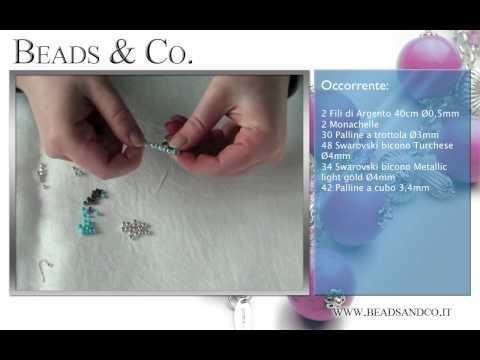 """Tutorial per creare orecchini in Argento . Visita la il nostro sito http://www.beadsandco.it alla sezione """"Idee Kit"""" e scopri quanto è semplice fare un vero gioiello """"fai da te"""". Lezione 23"""