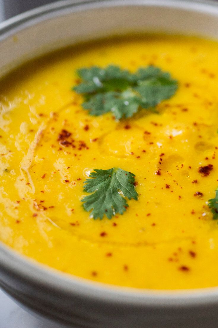 Lemony Carrot and Cauliflower Soup by NYT Cooking  #Soup #Carrot #Cauliflower