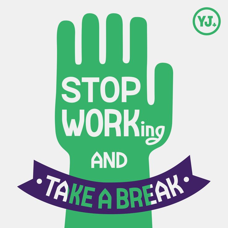 Stop Working  #lettering