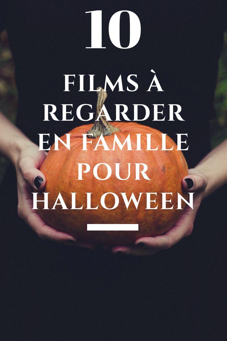 10 films à regarder en famille pour Halloween. Pour les enfants de 3 ans et plus. #halloween #film #famille