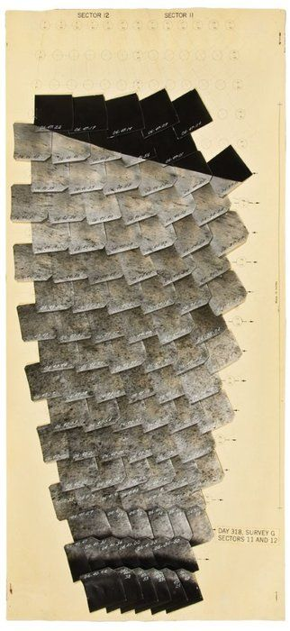 || NASA, Lunar Surveyor Mosaic: Day 318 (1966-68)