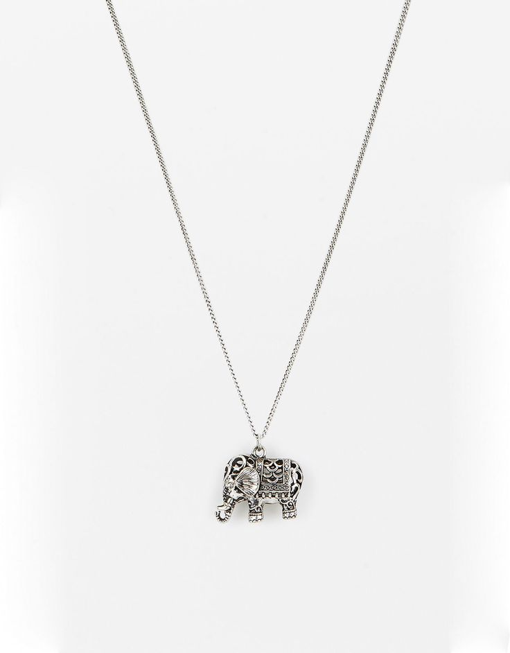 Ожерелье Filigree Elephant