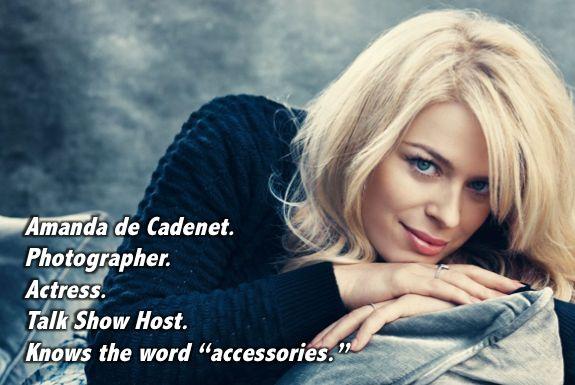 Absolutely Fabulous Ab Fab meme even Amanda de Cadenet knows the word accessories