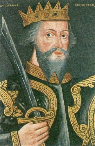 William the Conqueror of Normandy, King of England * William was the illegitimate son of Duke Robert I of Normandy, and Herleve (also known as Arlette), daughter of a tanner in Falaise. Known as 'William the Bastard' to his contemporaries, his illegitimacy shaped his career when he was young.: British History, England, British Monarchy, English History, King Williams, Families History, Ancestors, Families Trees, Normandy