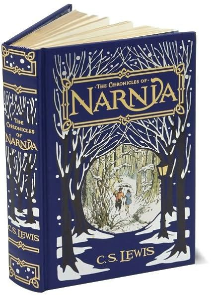 barnes and noble leatherbound classics - The Chronicles of Narnia, by C.S. Lewis