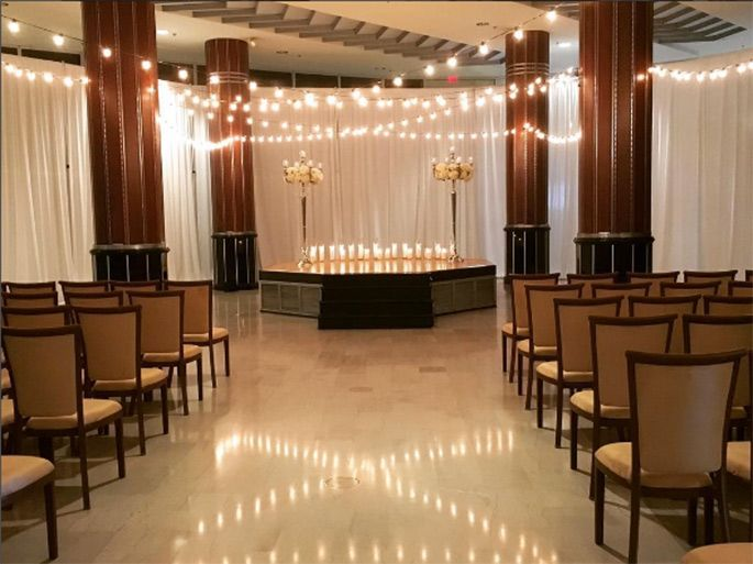 Wedding Ceremony at Marquee Events, Hartford, CT