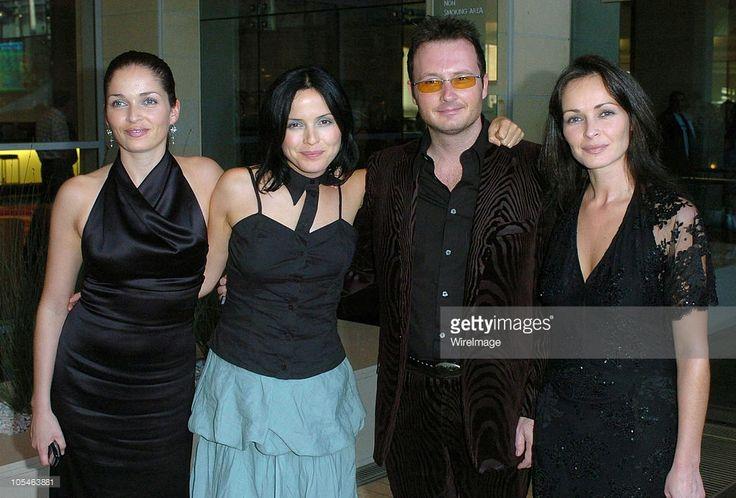 Caroline Corr, Andrea Corr, Jim Corr and Sharon Corr of The Corrs