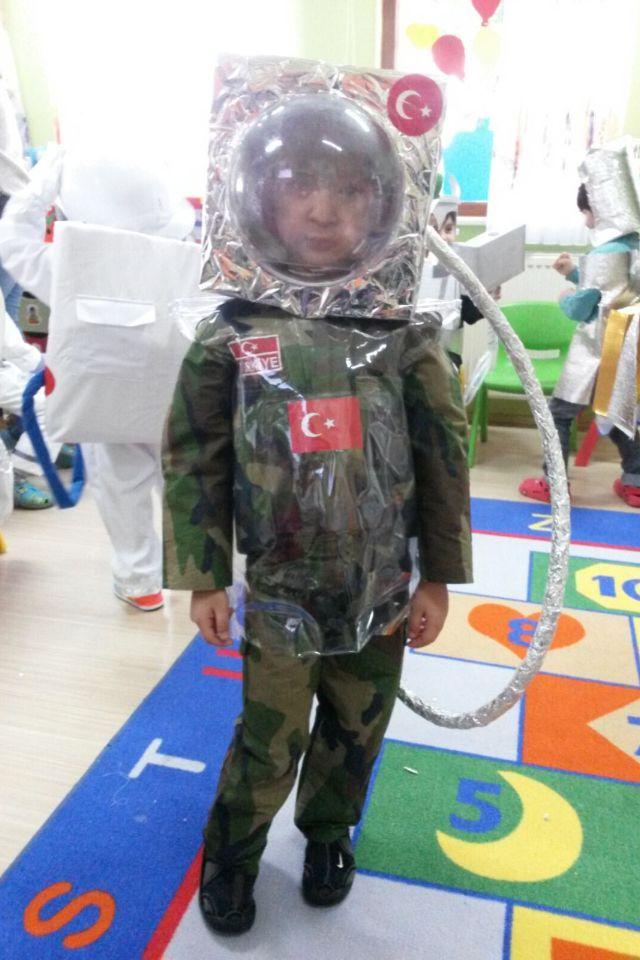 Türk astronotu ,astronot parti
