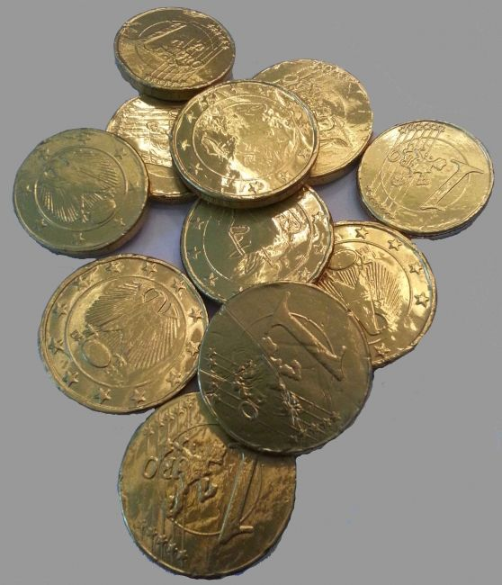 Chocolade munten kopen voor een stoer piratenfeestje? Kijk hier! Wij verkopen heel het jaar door chocolade munten!