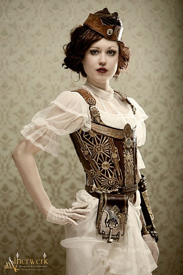 694 Best Images About Steampunk Fashion On Pinterest Corsets Victorian And Steampunk Corset