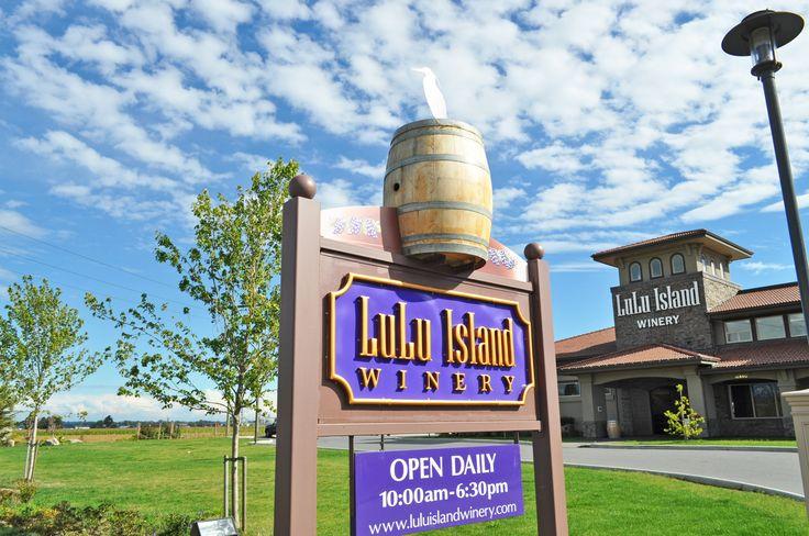 Lulu Island Winery #wine #richmondbc #winery