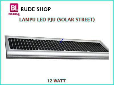 #jual #Lampu #LED PJU Tenaga Surya atau Solar Street LED 12 Watt harga #murah dan terjangkau