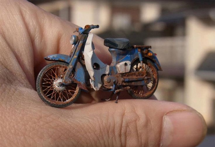 Maquetas de motos Satoshi Araki