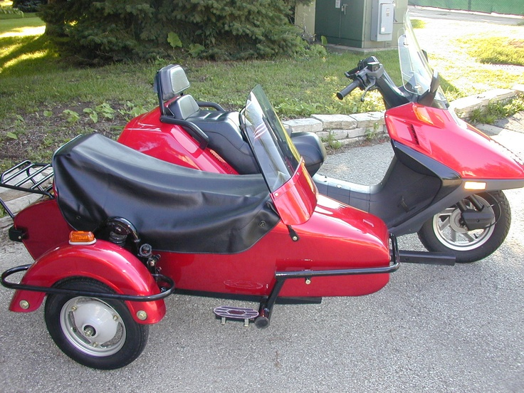 Scooter Sidecar Scooter S With Sidecars Pinterest Sidecar