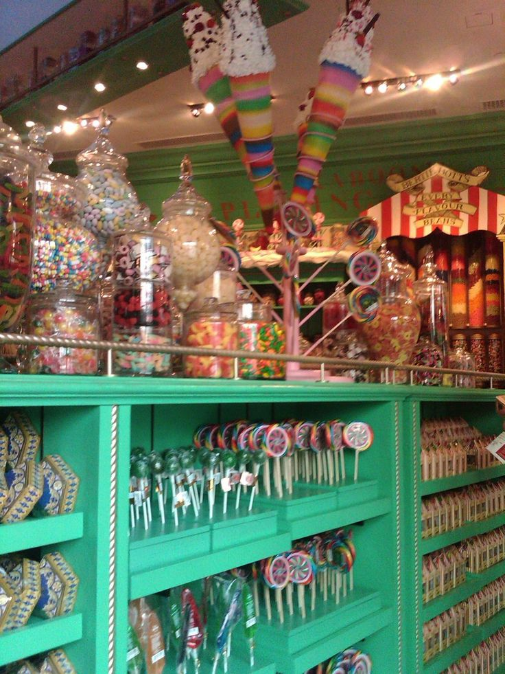 Honeydukes in Harry Potter World. Universal Studios Orlando. LOVE THIS PLACE!