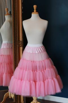 Audrey Lynn Vintage Bridal Petticoat | Tea length wedding dress petticoat | Choose your length
