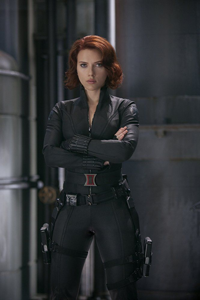 Scarlett Johansson Through The Years Black Widow Avengers