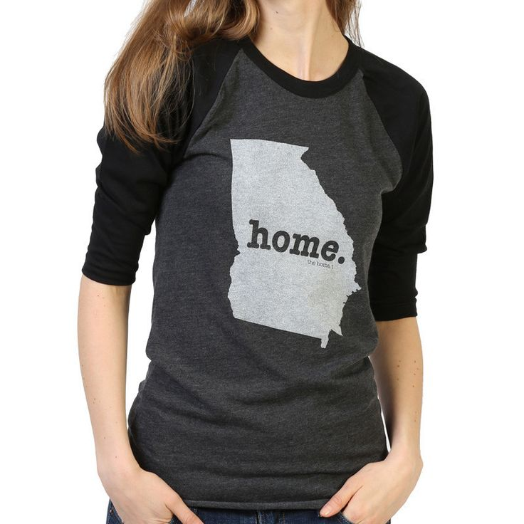 Georgia Home Baseball T State Shirt