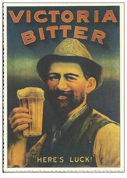 Victoria Bitter Vintage Poster I Can T Get Enough Of