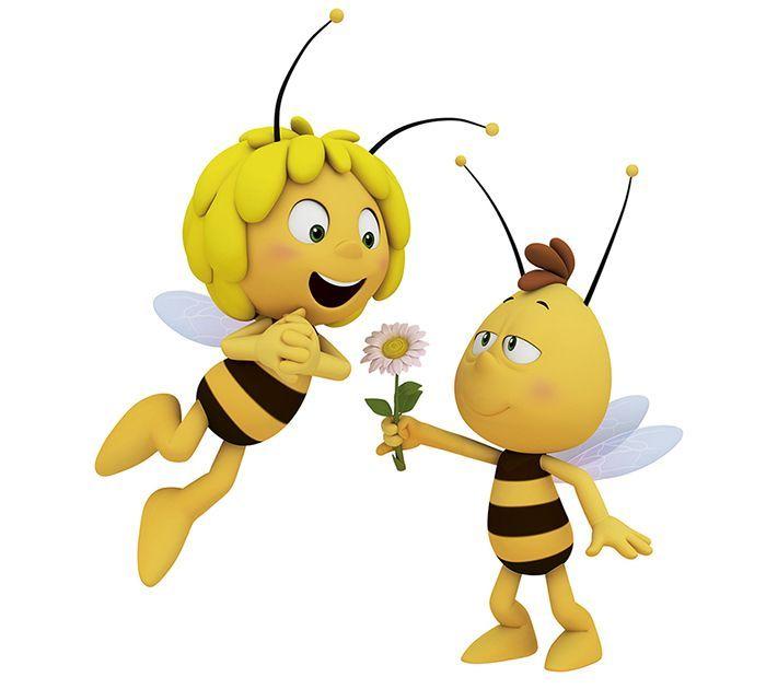 картинки пчелка майя смешные щита