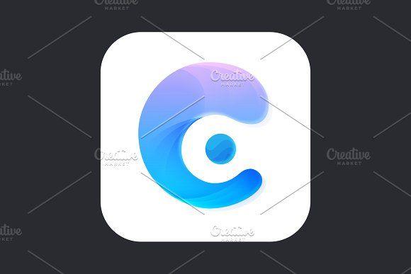 C App Icon App Icon App Icon Design Mobile App Icon