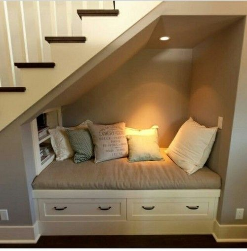 Not Only Is It Relaxing But It Would Make Great Use For The Space Under  Stairs, Especially In A Finished Basement.
