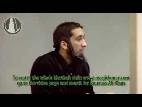 One of shaytan's biggest trick by Nouman Ali Khan | 3 minutes