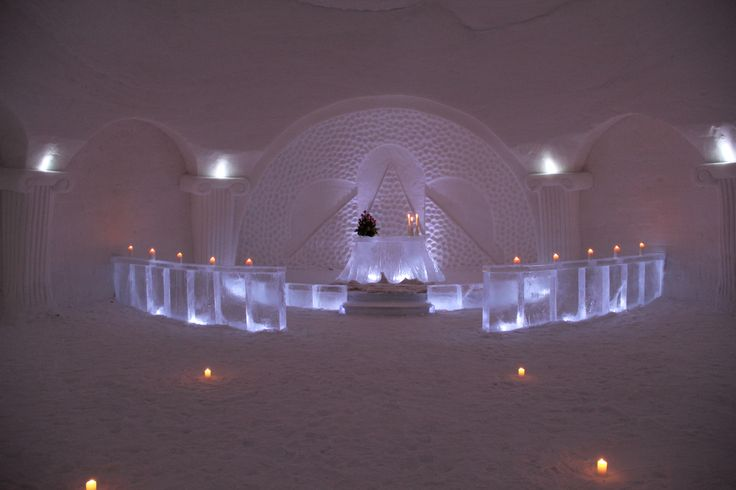 Luvattumaa - Levi Ice Gallery in Finnish Lapland | Tourism Marketing Concepts