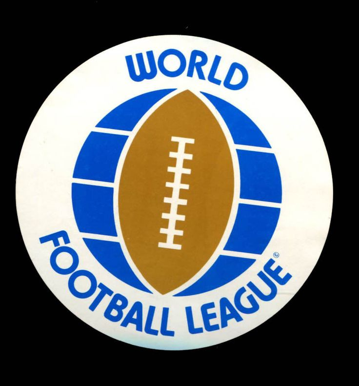 World Football League WFL 1974 Sticker