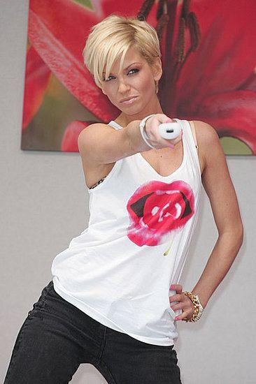 Sarah Harding Haircuts in 2009