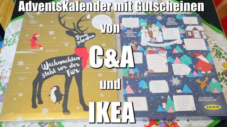 Der C&A und IKEA Adventskalender mit Einkaufsgutscheinen und Gewinnchancen
