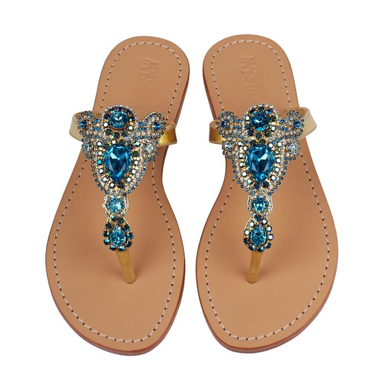 Mystique Sandals is the premiere women's jeweled sandals ...