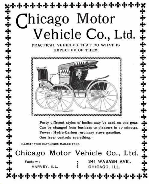 1900 chicago motor vehicle company automobile Motor vehicle chicago