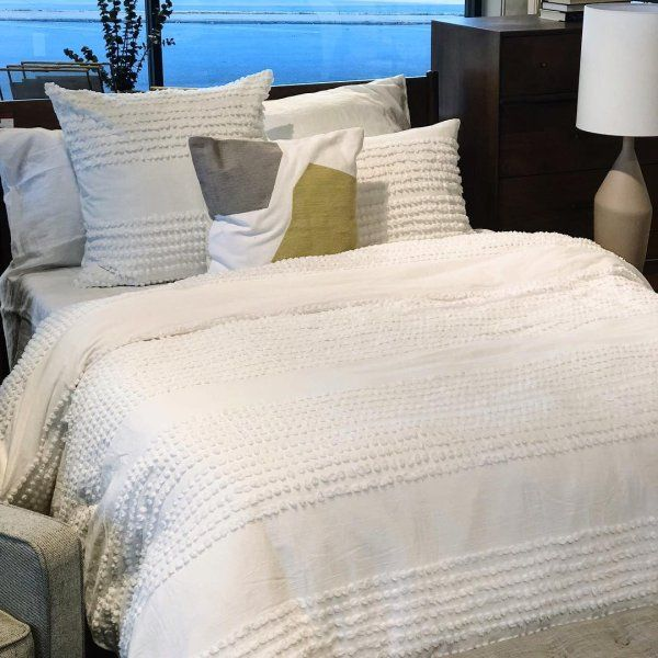 Candlewick Duvet Cover Shams In 2021 Luxury Bedding Master Bedroom Luxury Bedding Cheap Bed Sheets