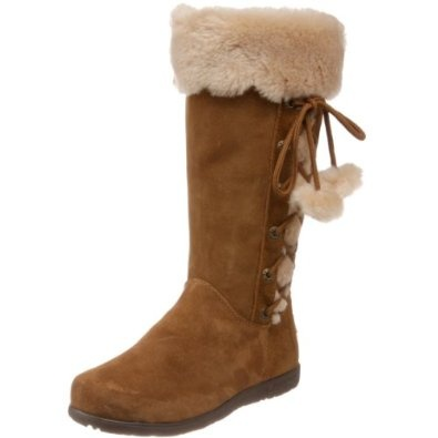 BEARPAW Women's Yukon Shearling Boot,Hickory,7 M US. Stroll down the promenade with your feet snugly encased in the Bearpaw Women's Yukon Boot. A Dri-Hide suede upper resists water and dirt so your feet stay comfy and dry when you window shop. Bearpaw also packed the Yukon with moisture-wicking wool lining, and its genuine sheepskin footbeds provide rich comfort that makes you never want to take these darlings off. You're going to love its TPR outsoles with deep grooves that channel water…