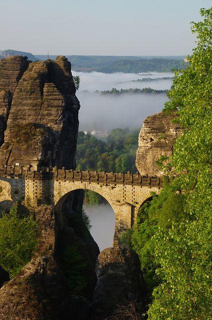 Bastei Bridge, Saxony, Germany