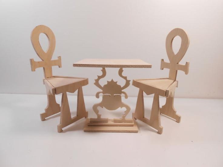 Monster High Ebay >> Monster High Furniture-Egyptian Scarab Pedestal Table. UNASSEMBLED, UNFINISHED.   eBay   DIY ...