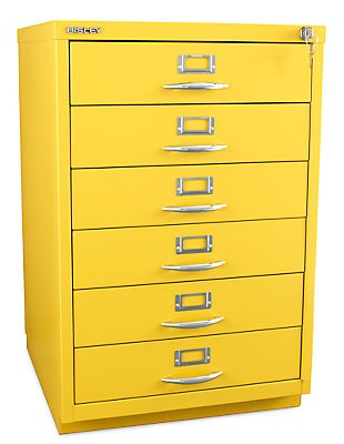 Bisley 6 Drawer Classic Front Filing Cabinet. Contemporary ...