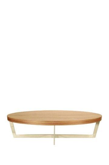 Oyster Coffee Table - Walnut