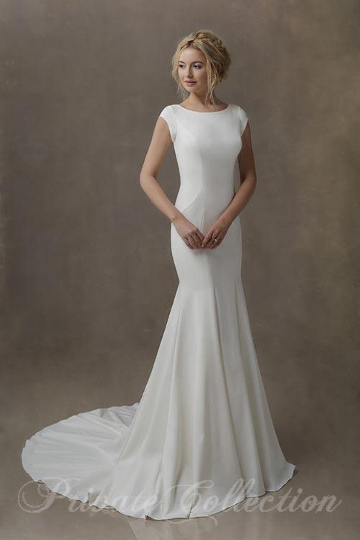 128 besten Modest Gowns Bilder auf Pinterest   Brautkleider ...