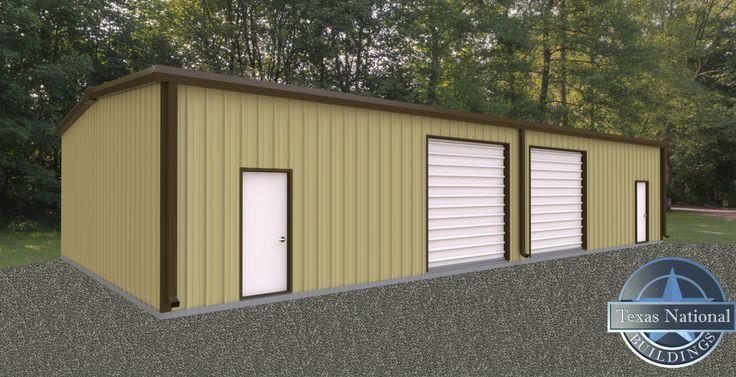 Warehouse Duplex Prefab Metal Building