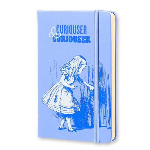 Alice's Adventures in Wonderland Curiouser & Curiouser Pocket Plain Notebook on British Library