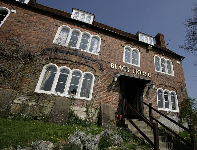 The Black Horse At Pluckley In The Most Haunted Village