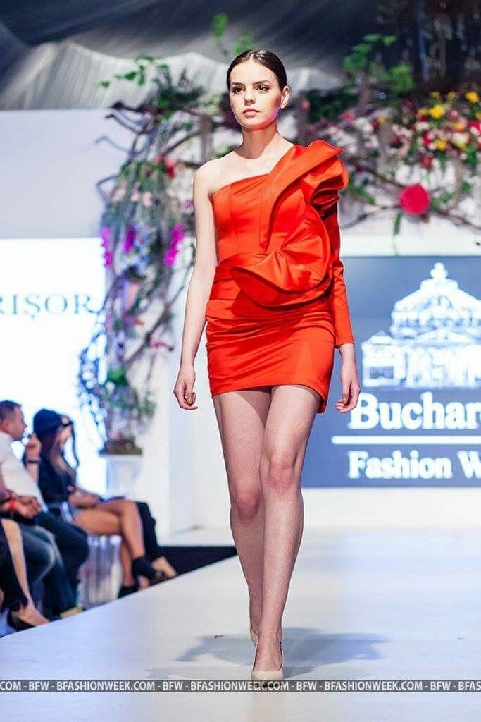 Designed by GeorgiaPetrisor Bucharest Fashion Week April 2015