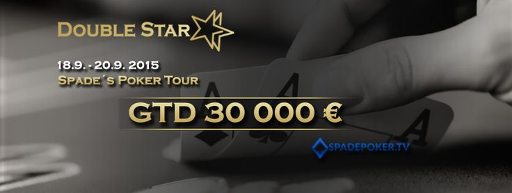 Už čoskoro!!! Spade´s Poker Tour 18.9. - 20.9. 2015 GTD 30 000€