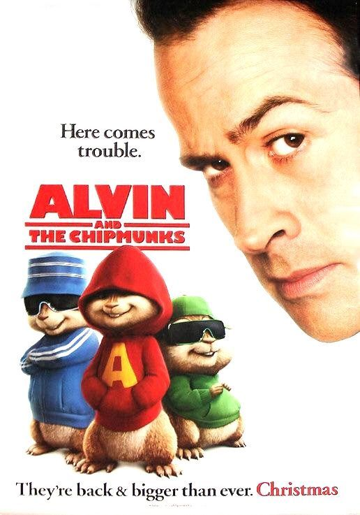 Alvin and the Chipmunks- love the chipmunks - since I was a kid