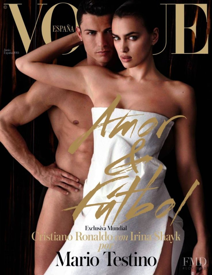 Irina Shayk featured on the Vogue Spain cover from June 2014