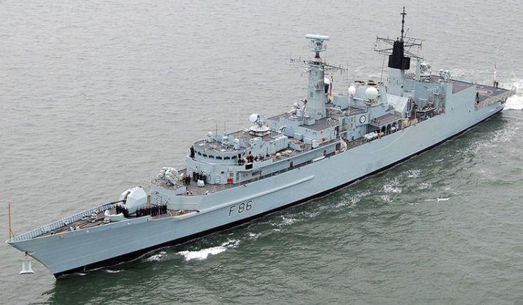 F86 HMS Campbeltown Type 22 Batch 3 Cornwall class frigate
