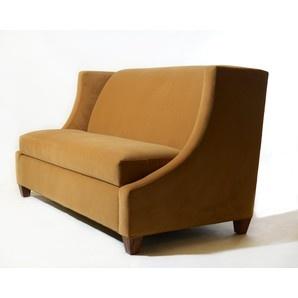 Love the classic lines on this custom sofa by @tlsbydesign: Yellow Ochr, Custom Sofas, Sleeper Sofas